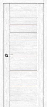 Дверь межкомнатная el-PORTA(Эль Порта) Porta-22 Snow Veralinga