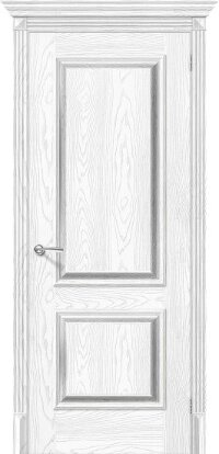 Дверь межкомнатная el-PORTA(Эль Порта) Классико-12 Silver Ash/Silver Rift
