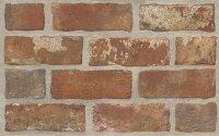 Керамическая плитка Paradyz Kwadro Loft rown Brick STR. плитка настенная 25x40