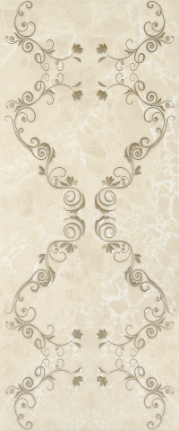 Керамическая плитка Gracia Ceramica Bohemia brown decor 03 250х600
