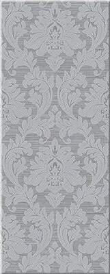 Керамическая плитка Azori Chateau Grey настенная 20.1x50.5