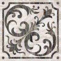 Керамическая плитка Vitra Bergamo Класический Микс Декор Теплая гамма Лаппато Ректификат 60х60