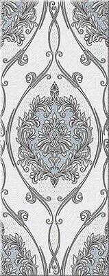 Керамическая плитка Azori Chateau Grey Декор Classic 20.1x50.5