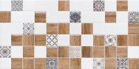 Керамическая плитка Lasselsberger АСТРИД декор 2 белый 20х40см (1041-0239)