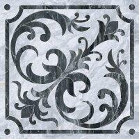 Керамическая плитка Vitra Bergamo Класический Микс Декор Холодная гамма Лаппато Ректификат 60х60