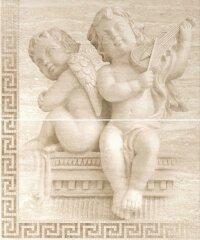 Керамическая плитка Gracia Ceramica Itaka beige panno 01 2 плиты 500х600