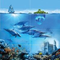 Керамическая плитка Сeramica Сlassic Ocean Deep Панно 80х80