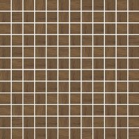 Керамическая плитка Paradyz Kwadro Loft Brown Wood мозаика чип 29.8x29.8