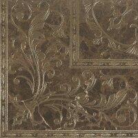 Керамическая плитка Gracia Ceramica Bohemia brown decor PG 01 450х450