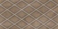 Керамическая плитка Kerlife Classico Rombi Amani Marron декор каштановый 31.5x63см