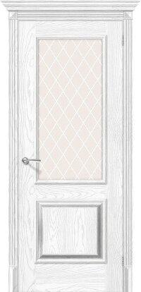 Дверь межкомнатная el-PORTA(Эль Порта) Классико-13 Silver Ash/Silver Rift