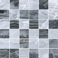 Керамическая плитка Vitra Bergamo Мозаика Холодный Микс 5х5