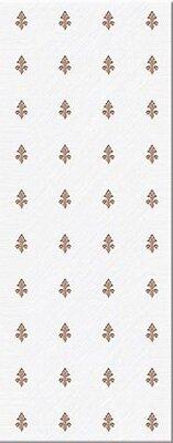 Керамическая плитка Azori Chateau Mocca Декор Lis 20.1x50.5