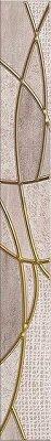 Керамическая плитка Azori Pandora Latte Бордюр Charm 63x7.5