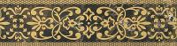 Керамическая плитка Gracia Ceramica Bohemia brown border 01 250х65