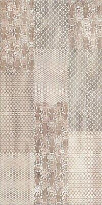 Керамическая плитка Azori Pandora Latte настенная Ornament 63x31.5