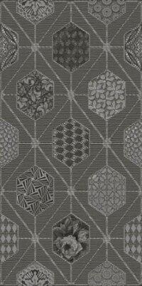 Декор Azori Devore Gris Geometria 315x630