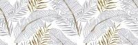 Декор Lasselsberger Диаманте 20х60 бел 2 (1664-0203)