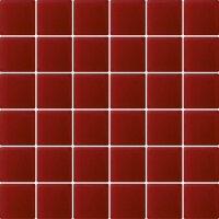 Керамическая плитка Paradyz Мозаика Karmazyn 29.8х29.8 чип 4.8х4.8