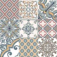 Керамическая плитка Azori Eclipse Grey напольная Ornament 33.3x33.3