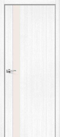 Дверь межкомнатная el-PORTA(Эль Порта) Porta-11 Snow Veralinga