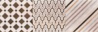 Керамическая плитка Gracia Ceramica Forte multi decor 02 25х75см