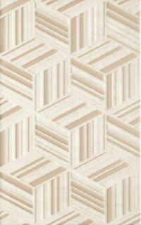 Керамическая плитка Paradyz Kwadro Rubi Beige Struktura плитка настенная 25х40