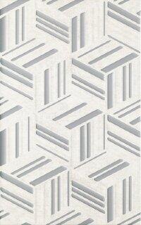 Керамическая плитка Paradyz Kwadro Rubi Grys Struktura плитка настенная 25х40