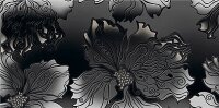 Керамическая плитка Azori Валькирия Антрацит Декор Декор 20.1x40.5