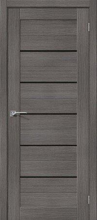Дверь межкомнатная el-PORTA(Эль Порта) Porta-22 BS Grey Veralinga