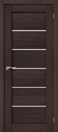 Дверь межкомнатная el-PORTA(Эль Порта) Porta-22 Wenge Veralinga