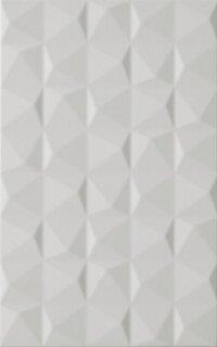 Керамическая плитка Paradyz Kwadro Melby Grys Struktura плитка настенная 25х40