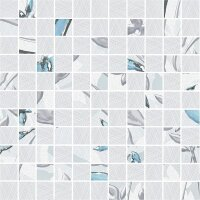 Керамическая плитка Delacora Fabric Декор Mosaic 30.5x30.5