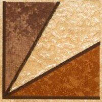 Керамическая плитка Paradyz Kwadro Rufus Beige Naroznik декор 7.7х7.7