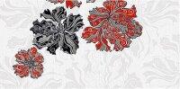 Керамическая плитка Azori Валькирия Декор Цветы 1 20.1x40.5