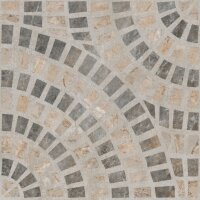 Декор Vitra Marble-Beton Круговой Темный 60x60 K949793LPR01VTE0