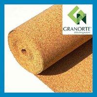 Подложка из пробки Granorte 3 мм рулонная 200 кг/м³
