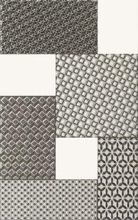 Керамическая плитка Paradyz Kwadro Melby декор 25х40