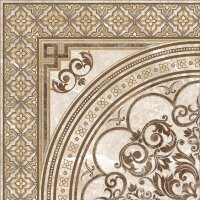 Керамическая плитка Grasaro Imperador декор св-беж G-101/G/d02 40х40см
