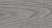 Напольный плинтус Идеал Комфорт 210 Дуб пепельный (пластиковый с кабель-каналом) 2,5 м