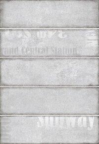 Керамическая плитка Керамин Сабвей 1Д 275х400мм