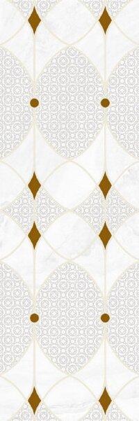 Керамическая плитка Gracia Ceramica Constance grey light decor 02 300х900