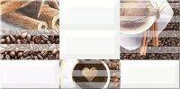 Керамическая плитка Azori Вог Декор Мокко 20.1x40.5