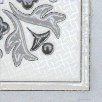 Угловой элемент напольный Lasselsberger Бьянка Каррара 10х10 белый 3610-0004