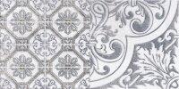 Керамическая плитка Lasselsberger Кампанилья декор 3 серый 20х40см (1641-0095)