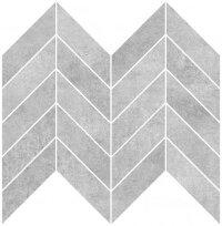 Мозаика на сетке Cersanit Brooklyn BL2L091 серый 23х30см