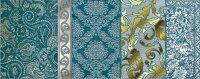Керамическая плитка Kerlife Diana Acqua декор 1 20.1х50.5см