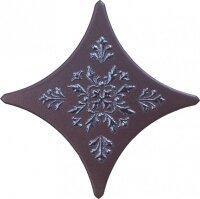 Керамическая плитка Gracia Ceramica Stella brown border 03 110х110