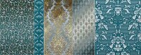 Керамическая плитка Kerlife Diana Acqua декор 2 20.1х50.5см