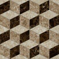 Керамическая плитка Lasselsberger Скольера геометрия 45х45см (6046-0350)